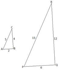 how to find corresponding sides of similar triangles