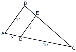 Similar Triangles Definitions And Problems