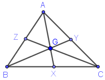 medians of triangle