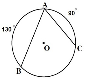 What is the value of the angle [tex] \widehat{BAC} [/tex]?