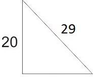 Calculate the length of the third side.